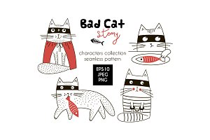 Bad cat story