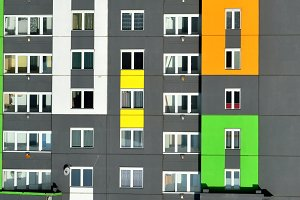 Modern buildings in Minsk