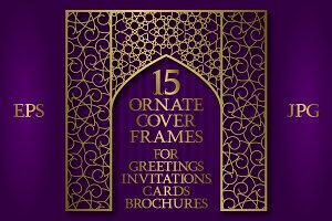 15 ornate cover frames