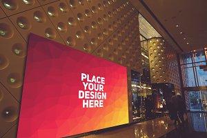Shop Billboard Mock-up#4