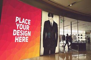 Shop Billboard Mock-up#5