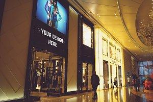 Shop Billboard Mock-up#7