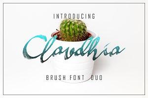 Claudhia & Jhelio Font Duo 50% Off