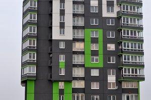 Modern building in Minsk,