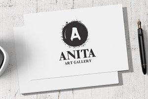 Anita Art - Letter A Logo