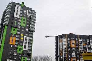 Modern building in Minsk