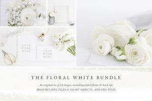 The White Floral Bundle