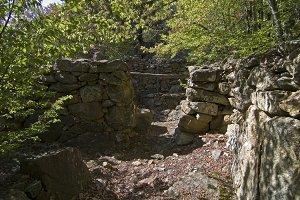 Ancient dwellings Tauri.