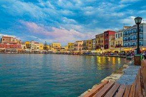 The Old Venetian Harbour of Chania