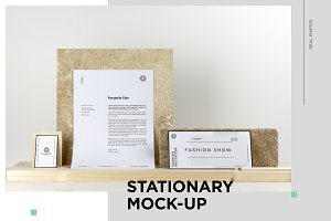 Stationary Mockup / Real Photo Scens