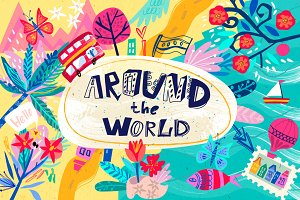 Around the world 30%off