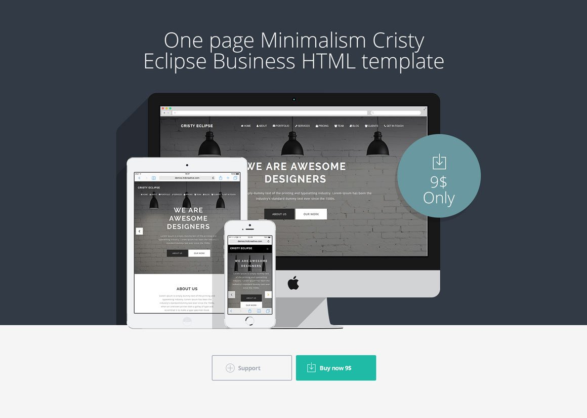 Cristy eclipse business template html css themes for Eclipse html template