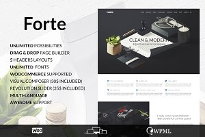 Forte - Multipurpose Wordpress Theme