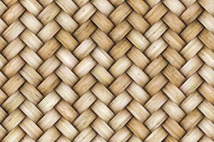 Wicker rattan seamless texture for CG
