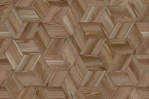 Parquet rhombus hexagon repeating