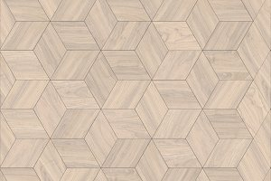Parquet rhombus hexagon repeating