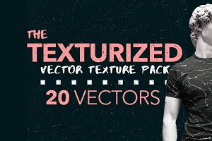 TEXTURIZED - 20 vector textures pack