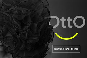 Otto Beautiful Rounded Fonts