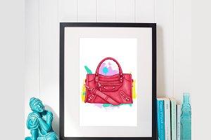 Handbag Purse Design Fashion Digital