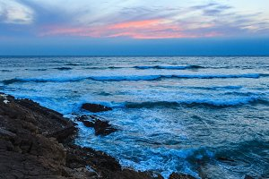 Summer Atlantic coast.
