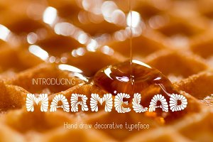 Marmelad Decorative Font