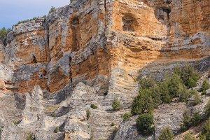 Detail of cliffs