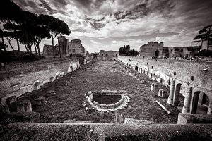 Ruins on Palatine Hill, Rome