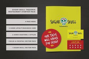 Sugar Skull Restaurant Bundle