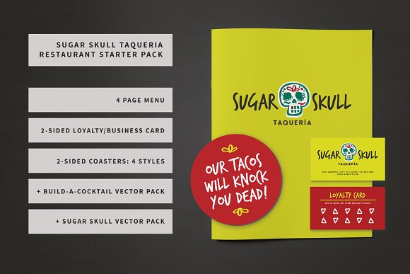 Sugar Skull Restaurant Bundle
