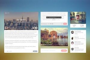 Flat UI Kit Blog
