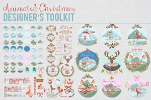 50% OFF Animated Christmas Toolkit