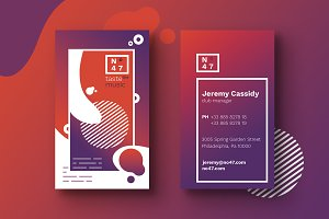 7 Clubbing Business Cards Templates