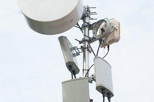 Telecommunication Equipment on Poles