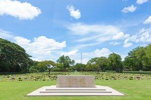 War Cemetery of the World War II