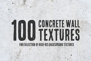 100 Concrete Wall Textures Bundle