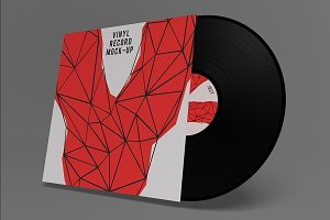 Vinyl Record Mockups for Photoshop