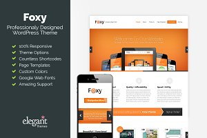 Foxy - Responsive Business Theme
