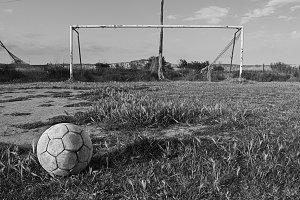 old football field
