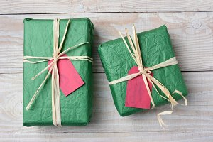 Green Christmas Presents