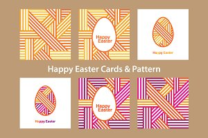Easter cards & pattern.