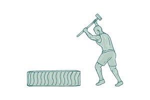 Fitness Athlete Sledge Hammer