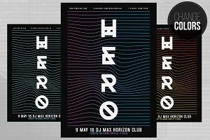 HERO Waves Flyer