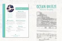 Ocean Breeze Resume