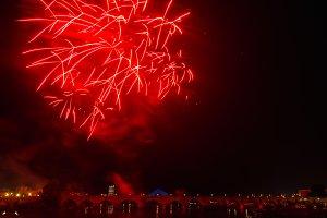 San Juan Fireworks at Badajoz