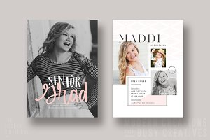 Grad Card | Blushing Senior
