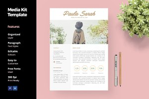 Media Kit for Blogger
