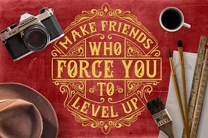 Make Friends Who Force You