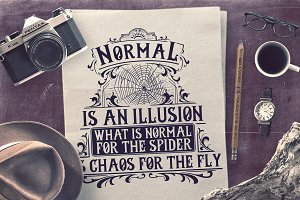 Normal is an Illusion