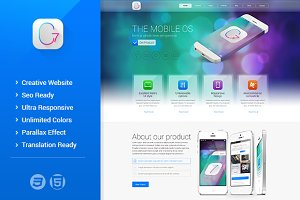 G7 HTML Template