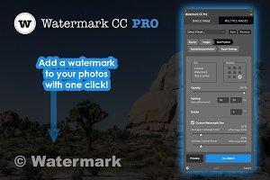 Watermark CC Pro